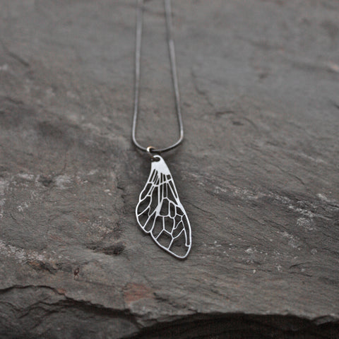 Delicate Wing Necklace Audra Azoura