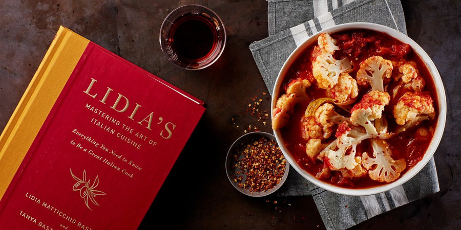 Lidia's Mastering the Art of Italian Cooking