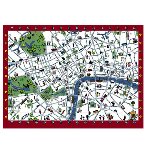 Guy Fox's London Children's Map