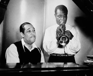 Duke Ellington and Louis Armstrong