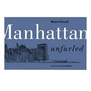 NEW YORK CITY - Manhattan Unfurled - Matteo Pericoli