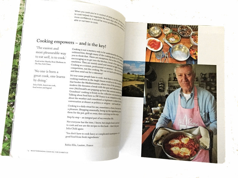 Mediterranean Cooking for Diabetics Cookbook by Robin Ellis