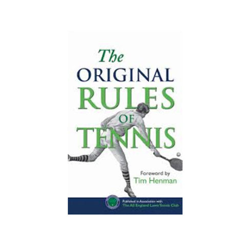 Original Rules of Tennis
