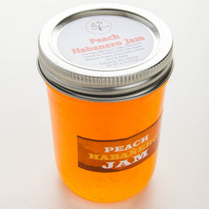 SMALL BATCH PEACH HABENERO JAM — HANDCRAFTED BY YIM'S FOODS