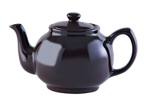 "Price & Kensington Rockingham Finish 6-Cup ""Brown Betty"" English Teapot with Stainless Steel Tea Filter"
