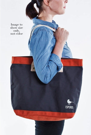 ESPEROS Poppy Market / Books / Beach / Use-Your-Imagination Tote with Detachable Carry Case