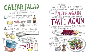 Salt, Fat, Acid, Heat: Mastering the Elements of Good Cooking — BY Samin Nosrat, Illustrated by Wendy MacNaughton