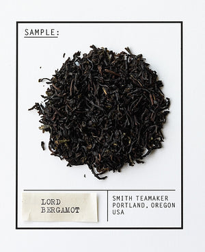 Steven Smith Teamaker — LORD BERGAMOT Full Leaf, Black Tea — Blend No. 55 —Tip Top Gift Box - 15 Sachets