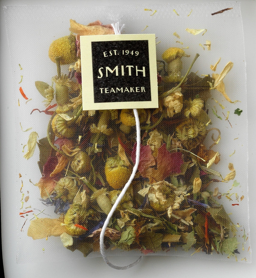 Steven Smith Teamaker — Meadow Egyptian Chamomile, Rooibos, Rose Petals and More Herbal Infusion — Varietal No. 45 — Tip Top Gift Box — 15 Sachets