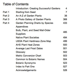 The Gardener's A-Z Guide to Growing Flowers From Seed to Bloom