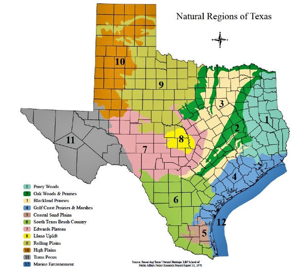 Map Of Texas Cities Some Of The Cities I Ve: Texas Nature And Environmental Centers Guide