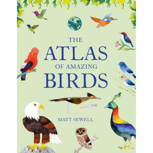 The Atlas of Amazing Birds — by Matt Sewell (Author, Illustrator)
