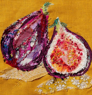 Wattle & Loop Figs Slow Stitching Kit