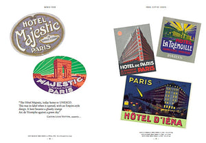 World Tour: Vintage Hotel Labels from the Collection of Gaston-Louis Vuitton — By Francisca Matteoli