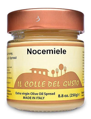 Sorrento Creamy Walnut & Honey Spread with Extra Virgin Olive Oil - Nocemiele Il Colle Del Gusto — CRAFTED BY ARTISANS IN ITALY