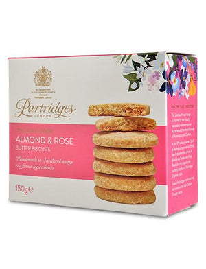 Partridges Almond & Rose All-Butter Biscuits