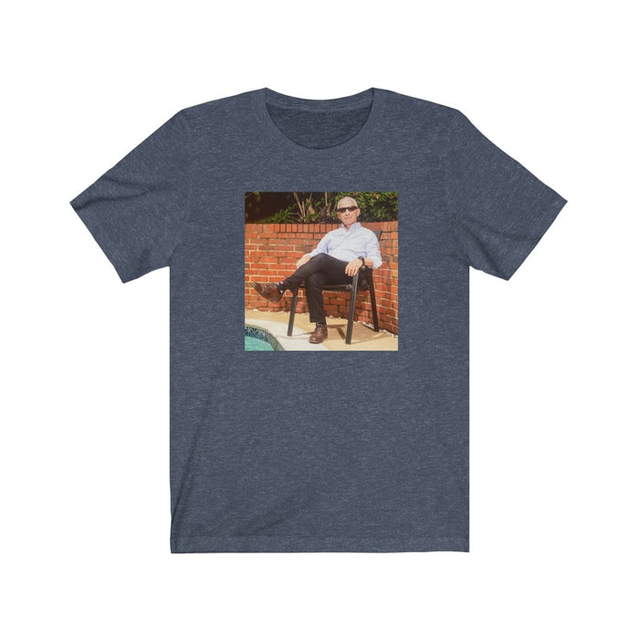 Fauci Chilling Poolside | Classic Capture on Unisex Tee