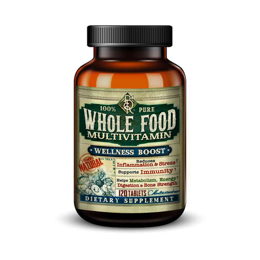 Whole Food MultiVitamin | Wellness Booster | 120 Tablets | Vegetarian | BelaRouche Supplements