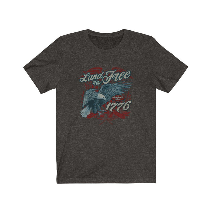 Americana - Land of the Free - Unisex Short Sleeve Tee - Red Bear Brands