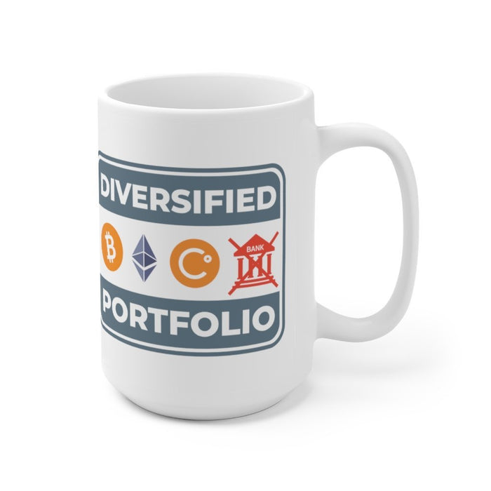 Ceramic Mug Big 15oz - Diversified Portfolio - Red Bear Brands
