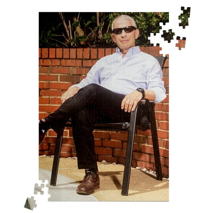 Fauci Poolside | JigSaw Puzzle | Two Sizes
