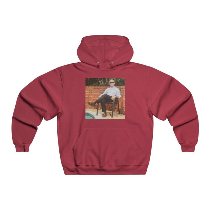 Dr Fauci Chilling Poolside | Fauci Cool | Unisex Heavy Blend Hooded Sweatshirt - Red Bear Brands