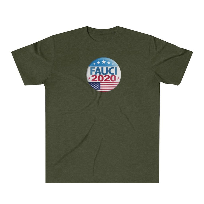 Fauci 2020 - Make the Right Decision - Comfortable Tri-Blend T-Shirt - Red Bear Brands
