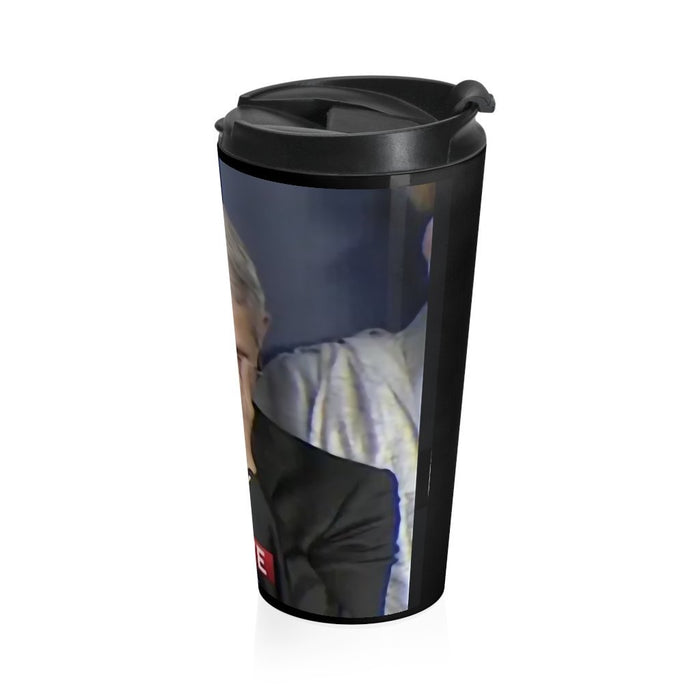 Fauci Hand on Face - 20oz Stainless Steel Travel Mug - Red Bear Brands