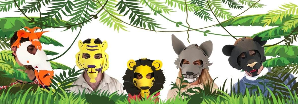 Fun Face Masks - FALCON (Hand Made, Original Design, Made in America) - Red Bear Brands