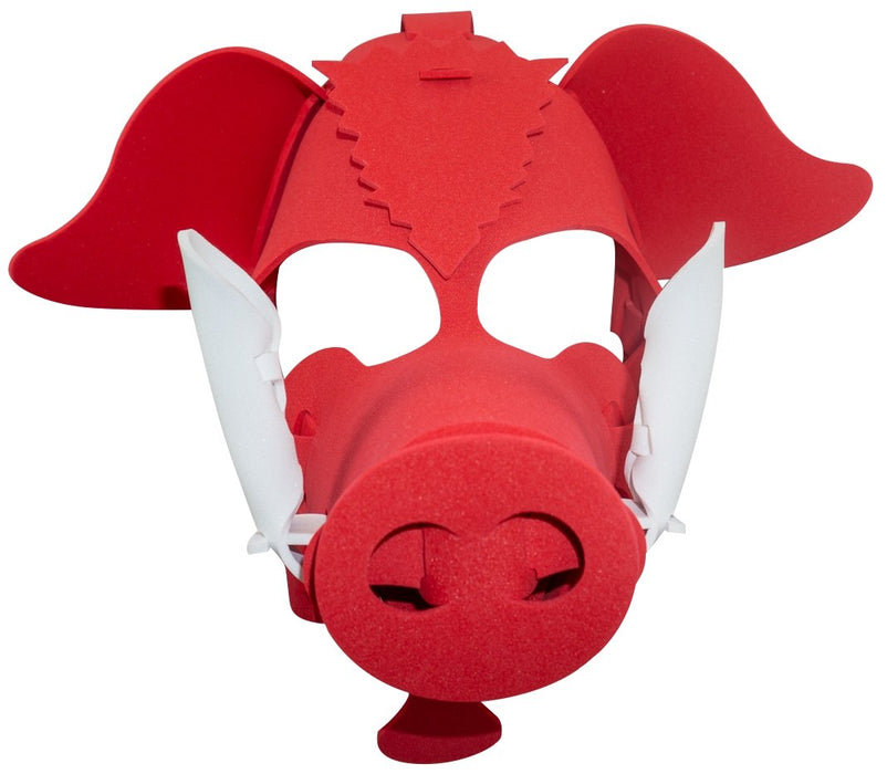 Fun Face Masks - RAZORBACK PIG (Hand Made, Original Design, Made in America) - Red Bear Brands