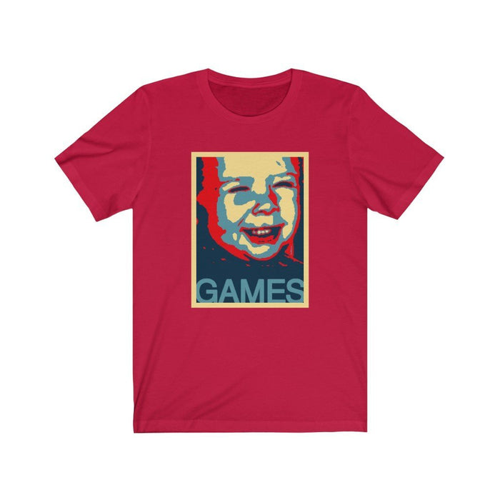 I Love Games - Unisex Jersey Short Sleeve Tee - Red Bear Brands