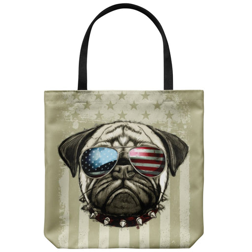 In Dog Years - Americana Dog Tote - Dog Lover 18 x 18 In. - Red Bear Brands