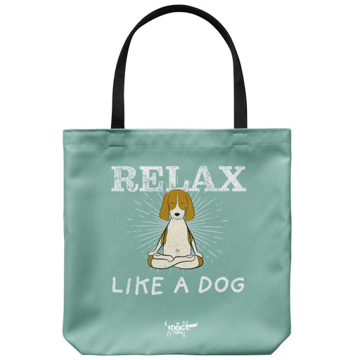 "In Dog Years - Relax Like a Dog Tote Bag 18"" x 18"" - Red Bear Brands"