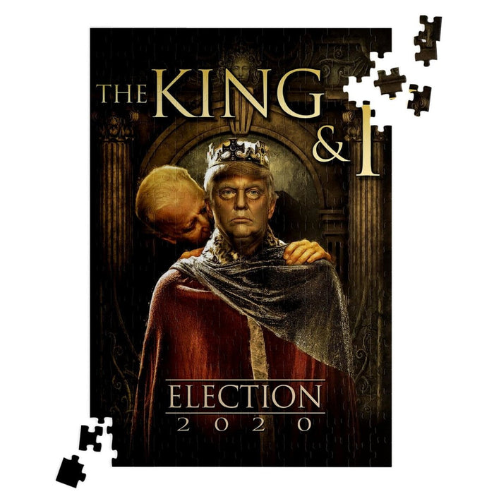 King & I - King Trump and Sir Biden Sniffsalot - Red Bear Brands
