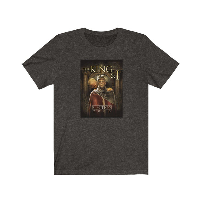 King & I - King Trump and Sir Biden Sniffsalot - Unisex Jersey Short Sleeve Tee - Red Bear Brands
