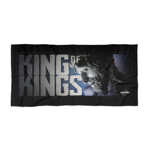 "King of Kings | Believe Brand | 30"" x 60"" Large Beach Towel - Red Bear Brands"