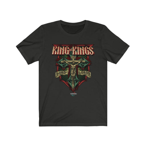 King of Kings | Believe T-Shirt | Unisex Jersey Short Sleeve Tee - Red Bear Brands