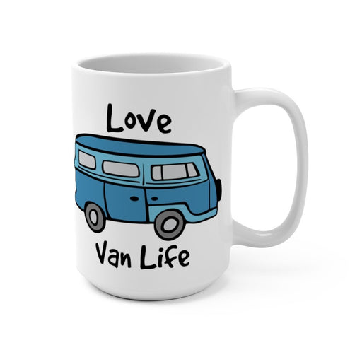 Mug 15oz - Love Van Life - Red Bear Brands