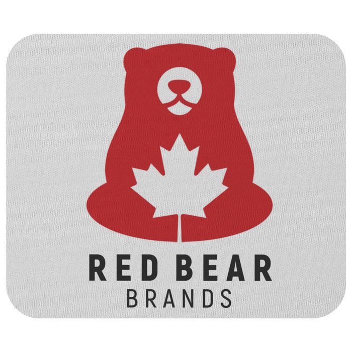 Red Bear Only - Mousepad