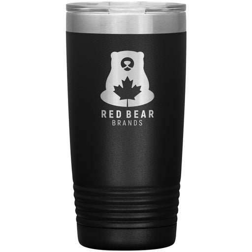 Red Bear Brands - 20oz Beverage Tumbler Laser Etched Logo - Red Bear Brands