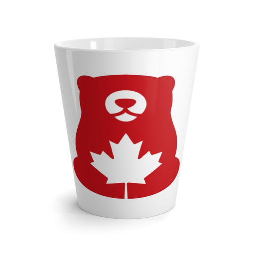 Red Bear Brands - Bear Only Logo Latte Mug - Red Bear Brands