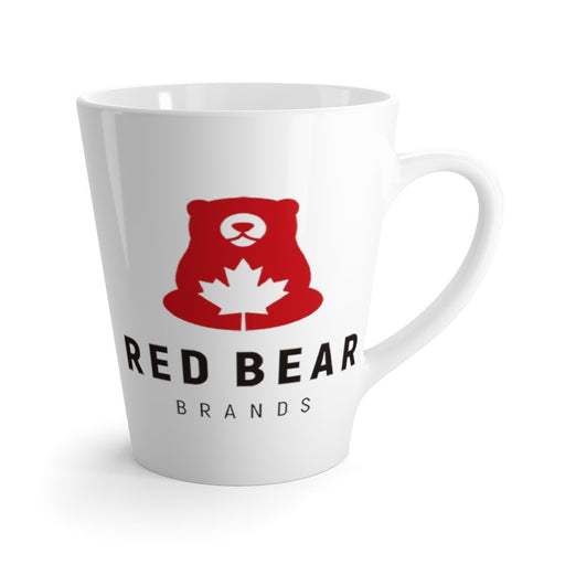 Red Bear Brands - Full Logo Latte Mug - Red Bear Brands