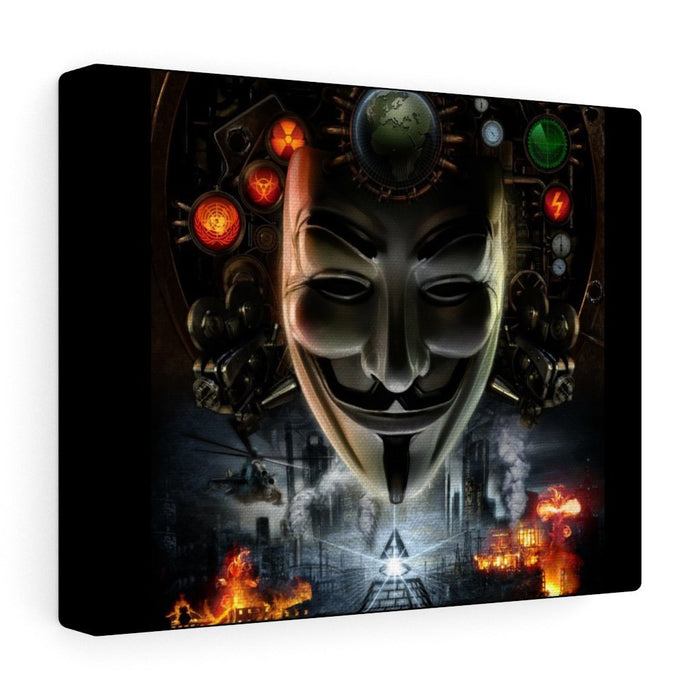 ReVLT - Anonymous / Guy Fawkes - Canvas Gallery Wraps - Red Bear Brands