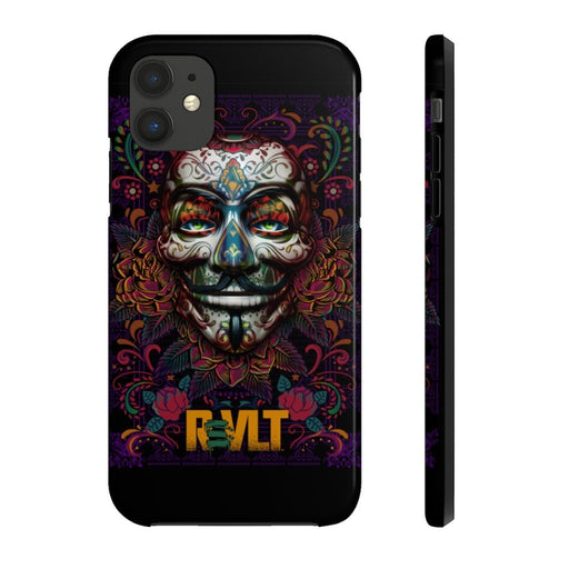 ReVLT - Day of the Dead / Sugar Skull - Case Mate Tough Phone Case - Red Bear Brands