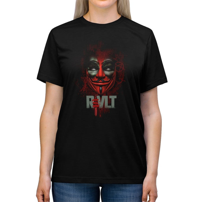 ReVLT - Deadpool - Incredibly Comfortable and Soft Unisex Tri-blend Tee - Red Bear Brands