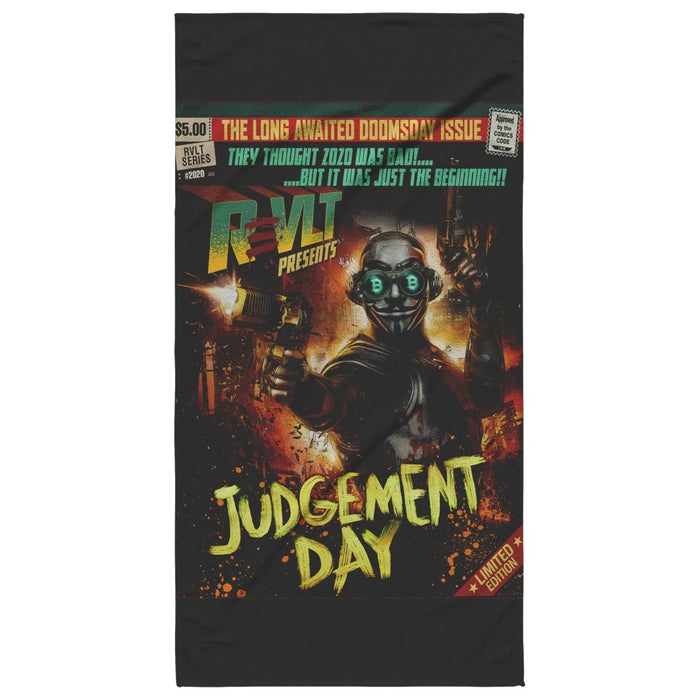 ReVLT Hero | Judgement Day Poster Art | Original Design | Guy Fawkes Mask - Red Bear Brands