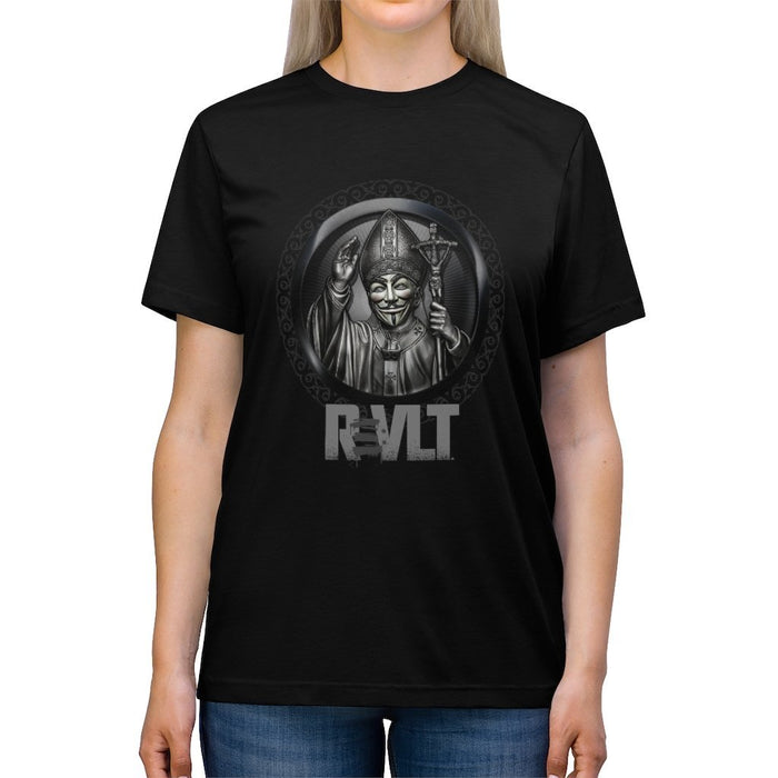 ReVLT - Pope - Incredibly Comfortable and Soft Unisex Triblend Tee - Red Bear Brands