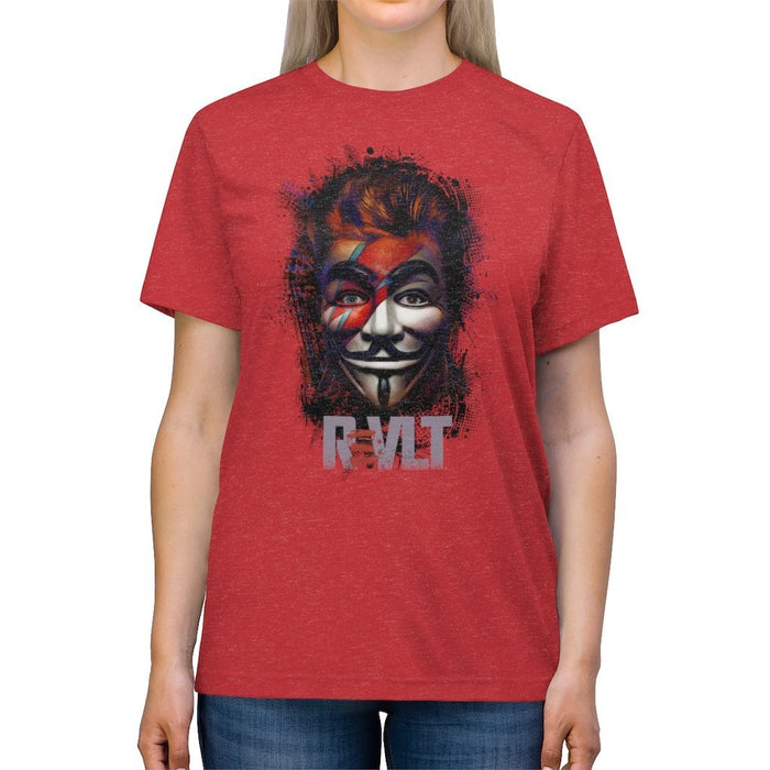 ReVLT - Stardust / Bowie - Incredibly Comfortable and Soft Unisex Triblend Tee - Red Bear Brands