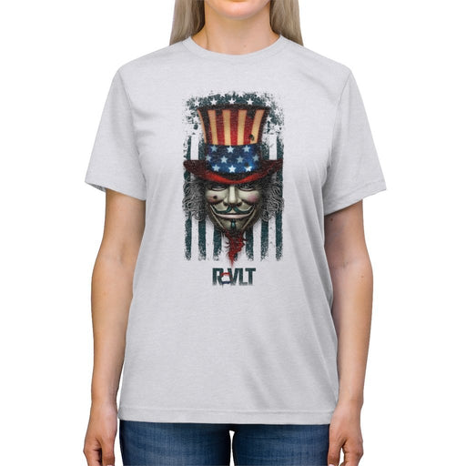 ReVLT - Uncle Sam - Incredibly Comfortable and Soft Unisex Triblend Tee - Red Bear Brands