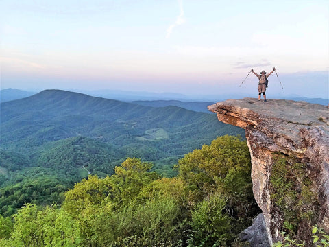 McAfee Knob, Appalachian Trail, Virginia